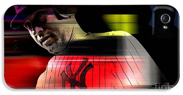 Derek Jeter IPhone 5 / 5s Case by Marvin Blaine