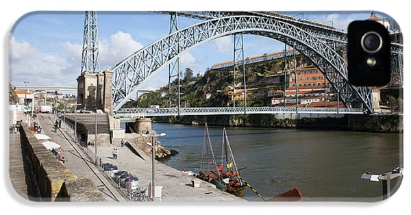 Gaia iPhone 5 Cases - Dom Luis I Bridge in Porto iPhone 5 Case by Artur Bogacki