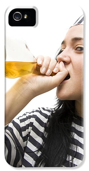 Drinking Detainee IPhone 5 / 5s Case by Jorgo Photography - Wall Art Gallery