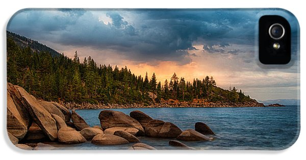 Storm iPhone 5 Cases - Eastern Glow at Sunset iPhone 5 Case by Anthony Bonafede