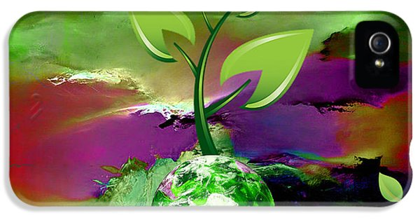 Eco iPhone 5 Cases - Eco Living iPhone 5 Case by Marvin Blaine