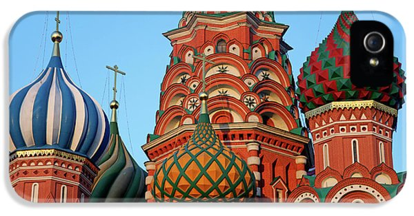 Europe, Russia, Moscow IPhone 5 / 5s Case by Kymri Wilt