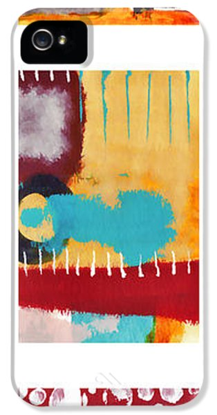 Exuberance iPhone 5 Cases - Exuberance No. 2 iPhone 5 Case by Carol Leigh