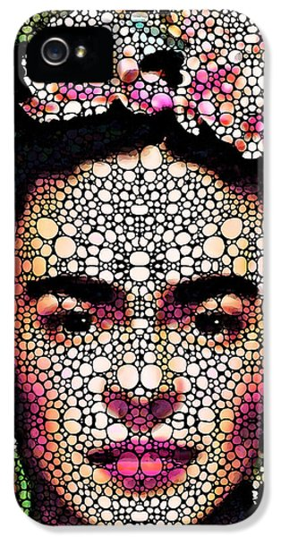 Painter iPhone 5 Cases - Frida Kahlo Art - Define Beauty iPhone 5 Case by Sharon Cummings