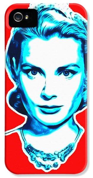 Grace Kelly IPhone 5 / 5s Case by Art Cinema Gallery