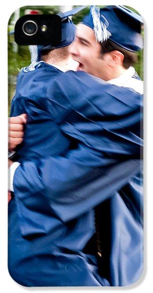 Exuberance iPhone 5 Cases - Graduation iPhone 5 Case by Jim DeLillo
