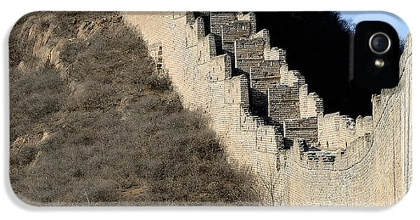 Nl iPhone 5 Cases - Great Wall of China - Vertical iPhone 5 Case by Brendan Reals