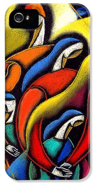 Husband iPhone 5 Cases - Harmony iPhone 5 Case by Leon Zernitsky