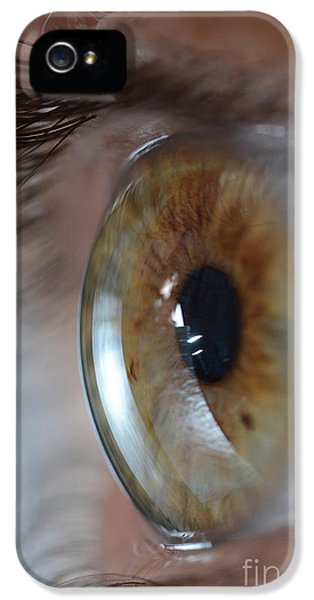 20 iPhone 5 Cases - Hazel Eye iPhone 5 Case by Photo Researchers, Inc.