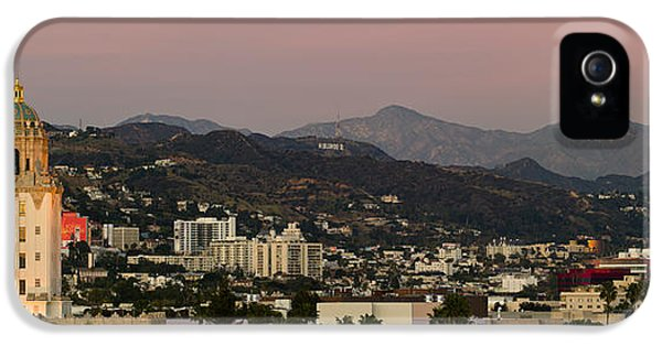 High Angle View Of A City, Beverly IPhone 5 / 5s Case by Panoramic Images