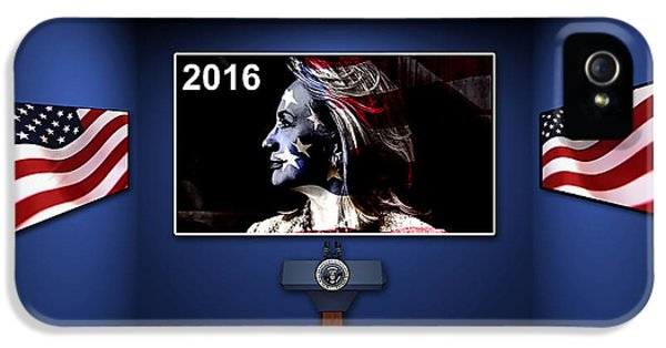 Hillary 2016 IPhone 5 / 5s Case by Marvin Blaine