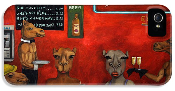 Wednesday iPhone 5 Cases - Hump Day iPhone 5 Case by Leah Saulnier The Painting Maniac