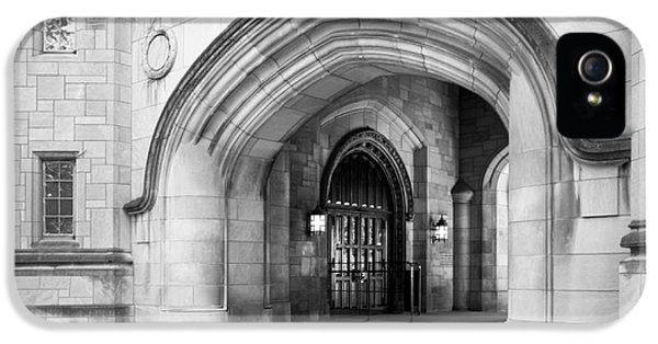 Gi iPhone 5 Cases - Indiana University Memorial Hall iPhone 5 Case by University Icons