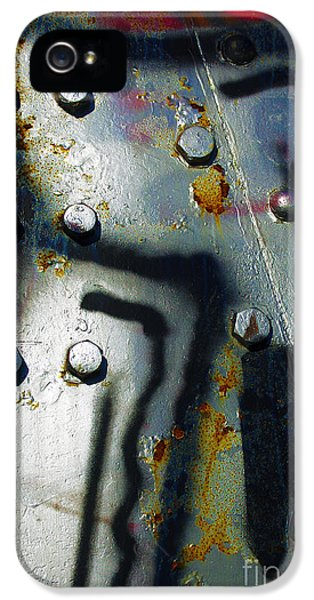 Industrial iPhone 5 Cases - Industrial Detail iPhone 5 Case by Carlos Caetano