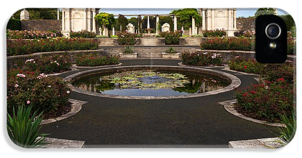 Restoration iPhone 5 Cases - Irish National War Memorial Gardens iPhone 5 Case by Panoramic Images