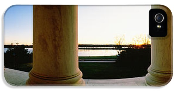 Jefferson Memorial Washington Dc Usa IPhone 5 / 5s Case by Panoramic Images
