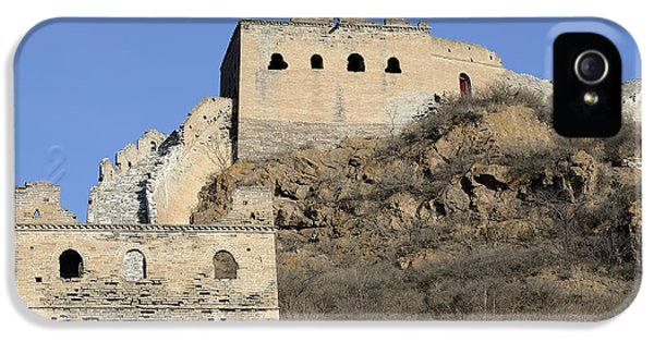 Nl iPhone 5 Cases - Jinshanling Great Wall of China iPhone 5 Case by Brendan Reals