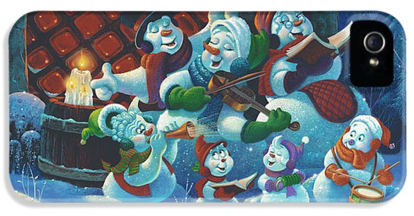 Michael iPhone 5 Cases - Joy to the World iPhone 5 Case by Michael Humphries
