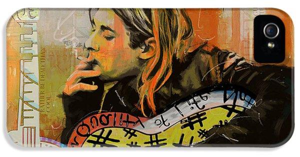 Nirvana iPhone 5 Cases - Kurt Cobain iPhone 5 Case by Corporate Art Task Force