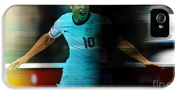 Landon Donovan IPhone 5 / 5s Case by Marvin Blaine