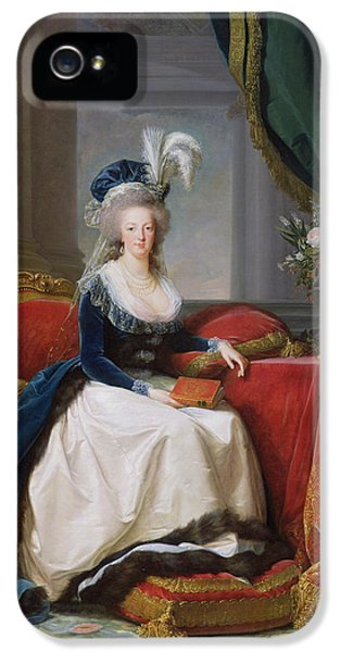 Marie Antoinette IPhone 5 / 5s Case by Elisabeth Louise Vigee-Lebrun
