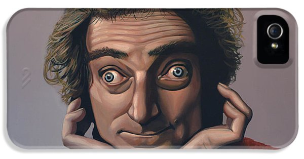 Moviestar iPhone 5 Cases - Marty Feldman iPhone 5 Case by Paul  Meijering