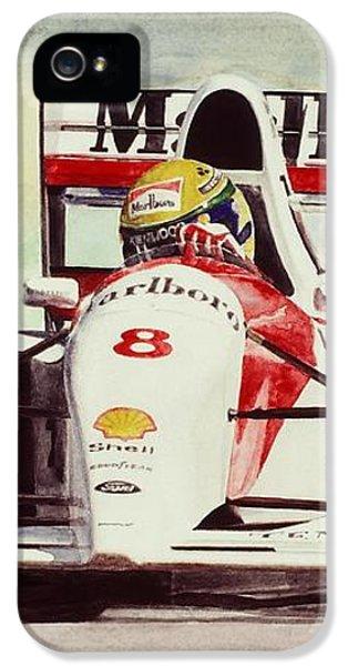 Formula One iPhone 5 Cases - McLaren Senna iPhone 5 Case by Oleg Konin