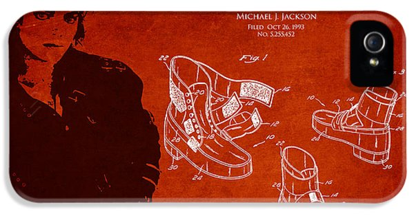 Michael Jackson iPhone 5 Cases - Michael Jackson Patent iPhone 5 Case by Aged Pixel