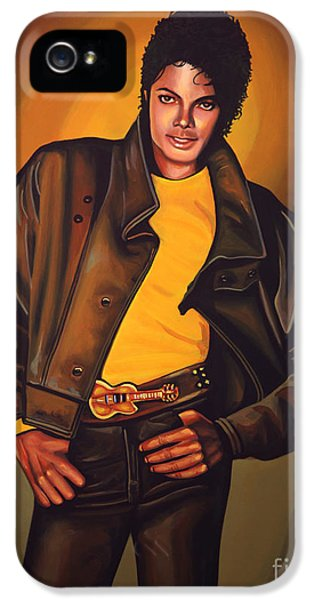 Michael Jackson iPhone 5 Cases - Michael Jackson iPhone 5 Case by Paul  Meijering