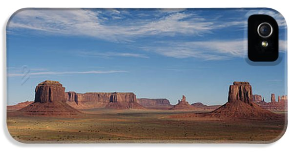 Hot Western iPhone 5 Cases - Monument Valley, Utah, Usa iPhone 5 Case by Panoramic Images