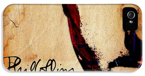 Phil Collins Collection IPhone 5 / 5s Case by Marvin Blaine