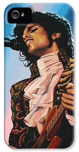 Dirty iPhone 5 Cases - Prince iPhone 5 Case by Paul  Meijering