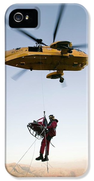 Raf Sea King Helicopter IPhone 5 / 5s Case by Ashley Cooper