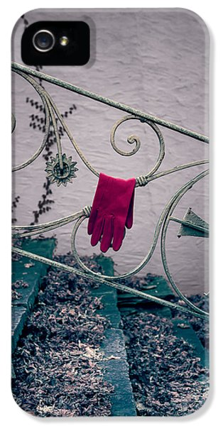 Glove iPhone 5 Cases - Red Glove iPhone 5 Case by Joana Kruse