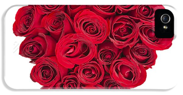 Rose Heart IPhone 5 / 5s Case by Elena Elisseeva