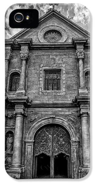 Il iPhone 5 Cases - San Agustin Church  iPhone 5 Case by Adrian Evans