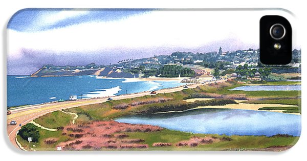 Aves iPhone 5 Cases - San Elijo and Hwy 101 iPhone 5 Case by Mary Helmreich
