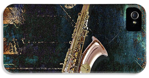 Saxophone Collection IPhone 5 / 5s Case by Marvin Blaine