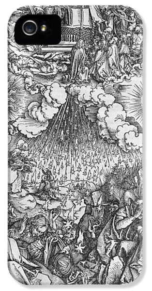 Revelations iPhone 5 Cases - Scene from the Apocalypse iPhone 5 Case by Albrecht Durer or Duerer