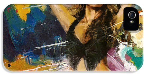 Shakira IPhone 5 / 5s Case by Corporate Art Task Force