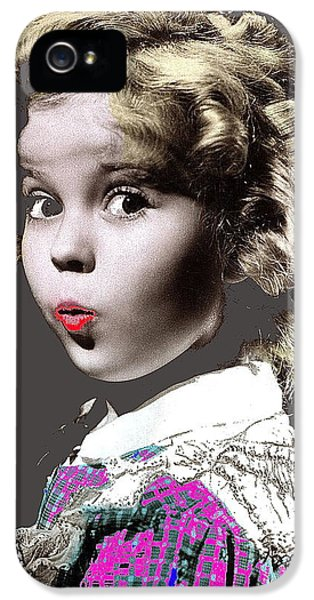 Shirley Temple Publicity Photo Circa 1935-2014 IPhone 5 / 5s Case by David Lee Guss