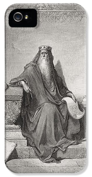 Wise iPhone 5 Cases - Solomon iPhone 5 Case by Gustave Dore