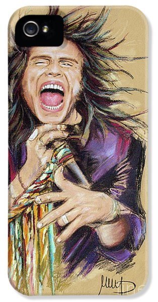 Steven Tyler  IPhone 5 / 5s Case by Melanie D