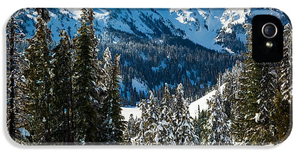 Tatoosh Winter Wonderland IPhone 5 / 5s Case by Inge Johnsson