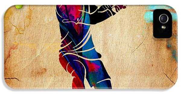 Tennis Painting IPhone 5 / 5s Case by Marvin Blaine