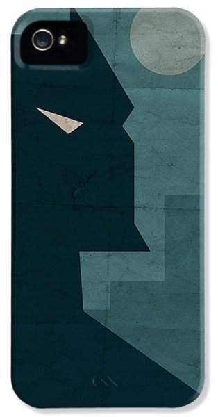 Book iPhone 5 Cases - The Dark Knight iPhone 5 Case by Michael Myers