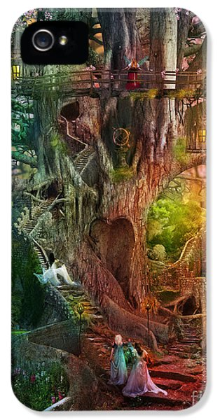 Coloured iPhone 5 Cases - The Dreaming Tree iPhone 5 Case by Aimee Stewart