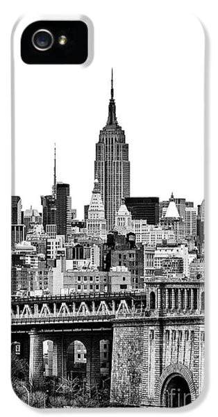 Yellow Taxi iPhone 5 Cases - The Empire State Building iPhone 5 Case by John Farnan
