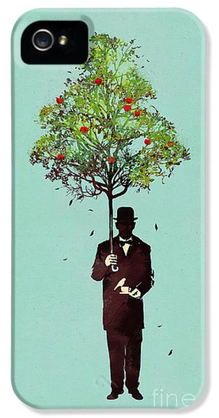 Environment iPhone 5 Cases - The ethical gentleman iPhone 5 Case by Budi Kwan