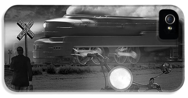 Engine iPhone 5 Cases - The Wait iPhone 5 Case by Mike McGlothlen